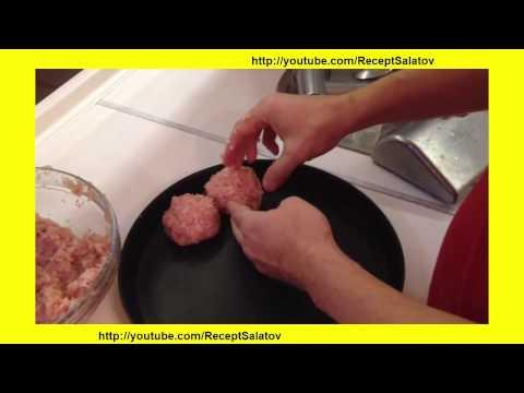 Рисовые тефтели  в сметанно томатном соусе запечённые в духовке из куриного филе и фарша | Тефтельки