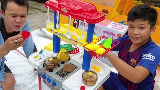 Trò Chơi Làm Bếp ❤ ChiChi TV ❤ Đồ Chơi Trẻ Em Baby Fun