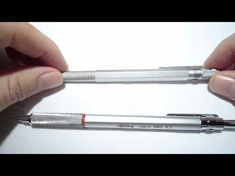 Rotring Rapid Pro mechanical pencil review