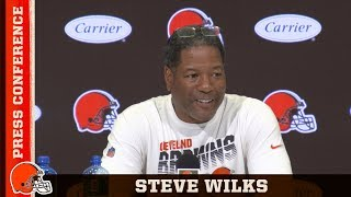 Steve Wilks Previews Strong Rams Offense for Week 3 Matchup | Browns Press Conference