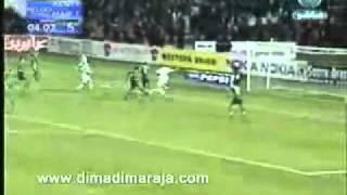 Maroc vs  Algerie  3-1 Can 2004