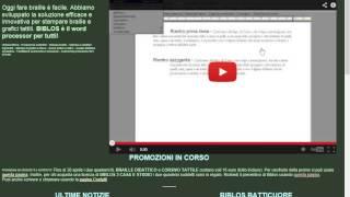Biblos e la creazione di audiolibri - 1 di 4