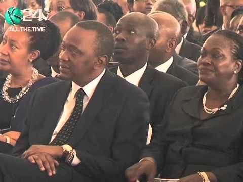President Kenyatta Buries Nephew