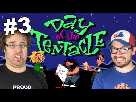 Day of the Tentacle en français sur PC (3 de 8)