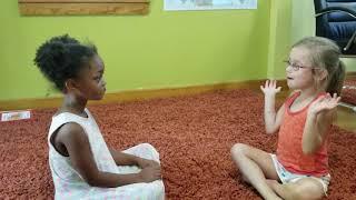 Hola, Como Te Llamas preschool song for introductions
