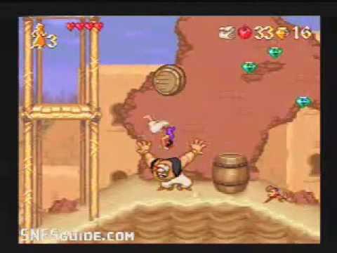 Disney's Aladdin - SNES Gameplay