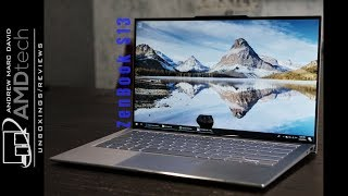 Asus ZenBook S13 (UX392FN) Review: The Reverse Notch