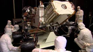 Building Curiosity_ Mars Rover Goes From Shake to Bake
