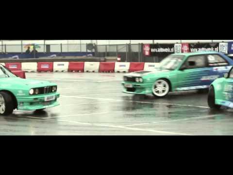 Falken Drift Demo - 100% Tuning 2012 - Ahoy Rotterdam