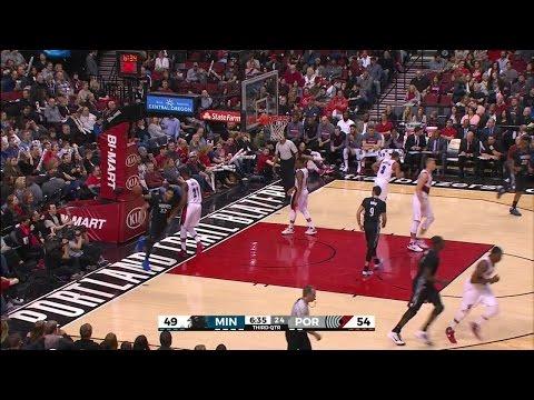 Quarter 3 One Box Video :Trail Blazers Vs. Timberwolves, 1/31/2016 12:00:00 AM