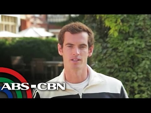 Andy Murray's message to Pinoy fans