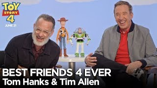 """Best Friends 4 Ever"" with Tom Hanks & Tim Allen 