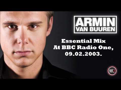 Armin Van Buuren First Essential Mix 09.02.2003, Live At BBC Radio 1