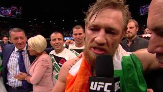 UFC 189: Conor McGregor and Chad Mendes Octagon Interviews