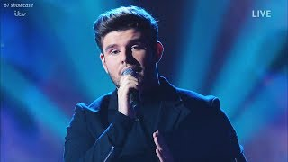 """Lloyd Macey sings STUNNING """"A Different Corner """" Made Sharon Cry X Factor 2017 Live Show Week 3"""
