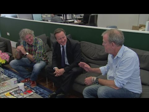 Brexit 2016: Jeremy Clarkson, David Cameron and James May cosy up