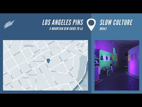 Los Angeles Pins - Slow Culture Gallery