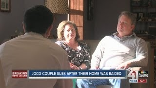 JoCo couple sues for 4/20 pot raid