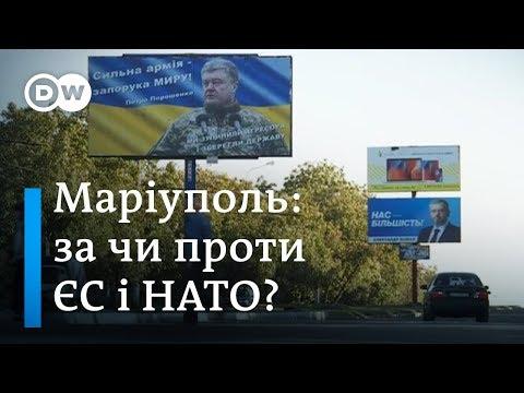Курс на ЄС і НАТО: що думають про це у прифронтовому Маріуполі? | DW Ukrainian