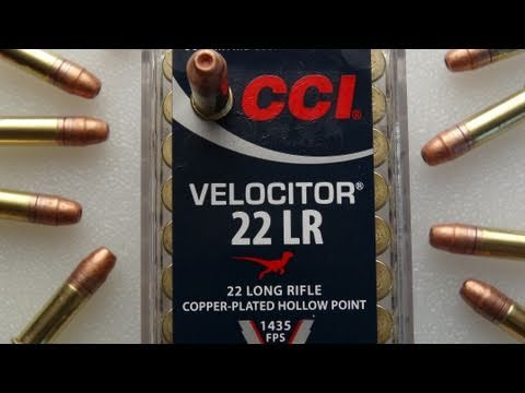 CCI Velocitor .22 LR Ammo Review