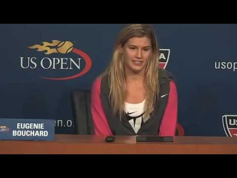 Eugenie Bouchard - Us Open 2014