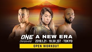ONE Championship: Tokyo Open Workout