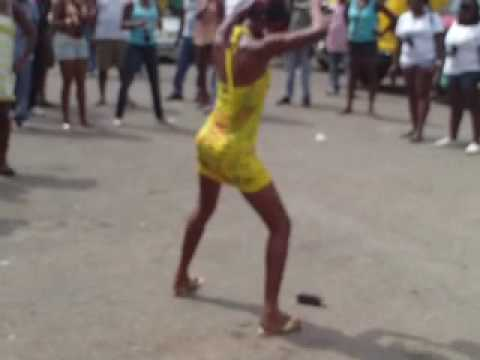 MAD WOMAN DANCING CONTEST