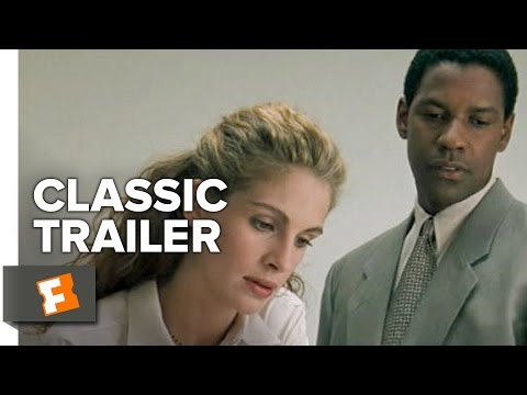 The Pelican Brief (1993) Official Trailer - Denzel Washington, Julia Roberts Thriller Movie HD
