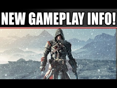 Assassin's Creed Rogue New Gameplay Details: Legendary Ships & Captain's Cabin PS3 Xbox 360