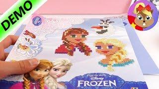 Bộ đồ chơi Disney Frozen xếp hạt tạo hình Anna và Elsa