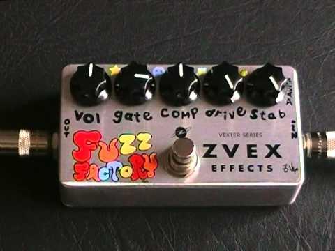 Zvex - Fuzz Factory (Demo en Español)
