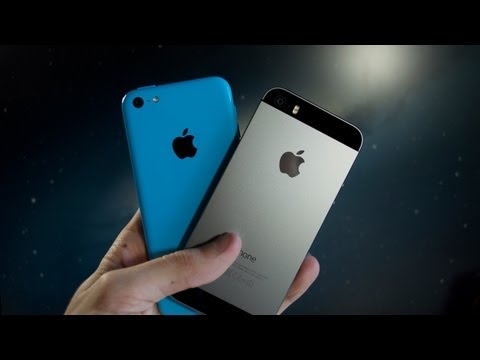 Apple iPhone 5S and 5C Double Unboxing & Product Tour! Space Gray & Blue!