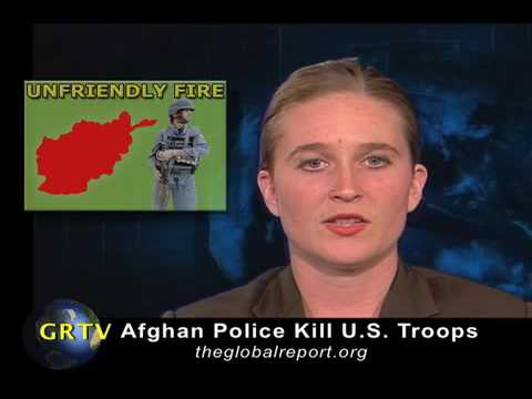 Afghan Police Kill U.S. Troops