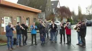 Der Brechtener Posaunenchor Spielt Weihnachtslieder