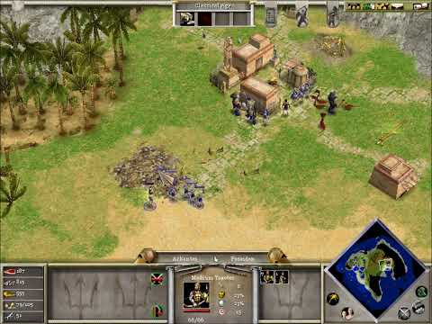 Age of Mythology episode 2 Cyclops and the forgotten fishing ship