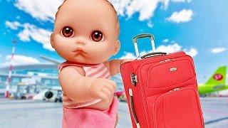 Куклы Пупсик Едет в отпуск на Море. Берет с собой игрушки Свинка Пеппа, Май Литл Пони. Зырики ТВ