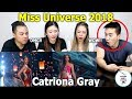 Miss Universe 2018 - Catriona Gray Philippines Highlights | Reaction - Asian Down Under