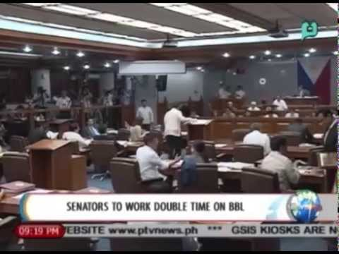 NewsLife: Senate to work double time on Bangsamoro Basic Law || August 11, 2014