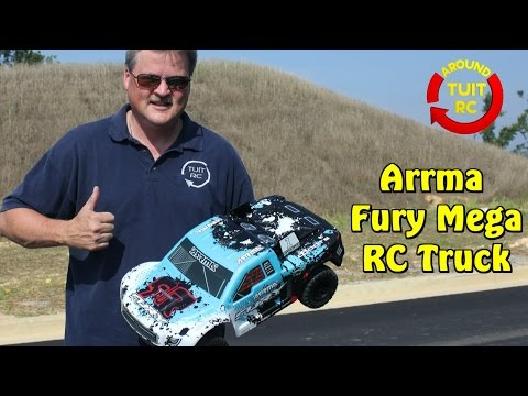 Arrma Fury Mega Truck Review: Around Tuit RC