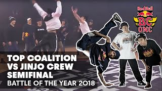 Battle Of The Year 2018   Semifinal: Top Coalition (TW) vs. Jinjo Crew (KR)