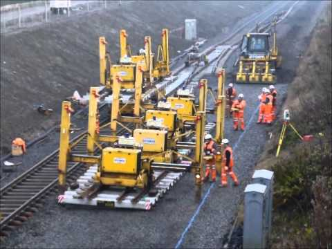 "(6)  Rail Link and Test Track to ""Hitachi"" Train Assembly Factory at Newton Aycliffe"