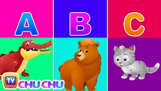 Alphabet Animals – Learn the Alphabets, Animal Names & Animal Sounds | ChuChu TV ABC Songs for Kids