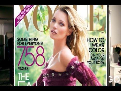 Kate Moss se une a la plantilla de la revista 'Vogue'