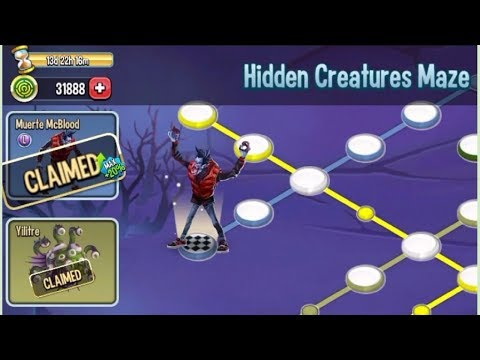 Monster Legends - Hidden Creaturre Maze Review UnlockAll
