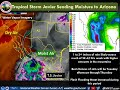 Tropical Storm Javier to send moisture into Southeast Arizona