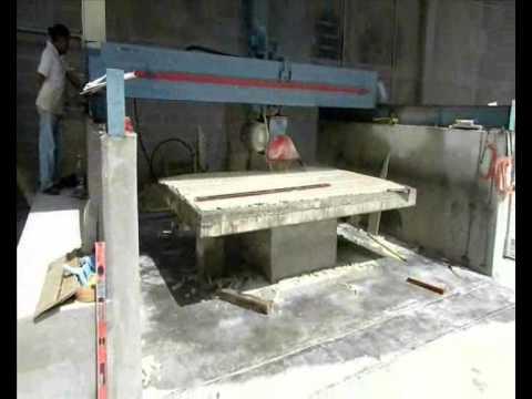 Cortadora de puente v 1070 youtube - Como cortar marmol encimera ...