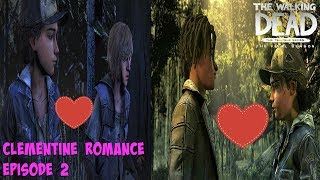 "Clementine's Romance/Relationship - The Walking Dead:Season 4 Episode 2 ""Suffer The Children"""