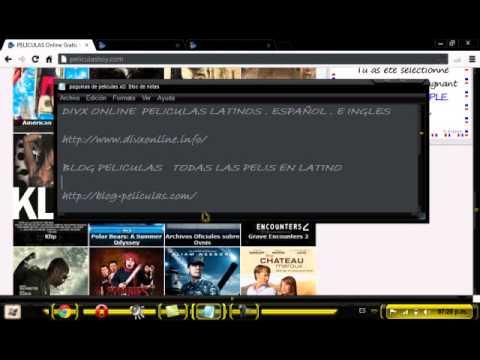 paguinas para ver peliculas  online  y descargarlas,  tutorial by_AgustiN17RiveR