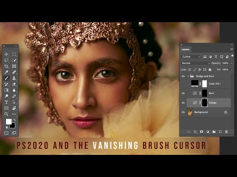 Did The Brush Cursor Silently Change In Photoshop CC 2020?