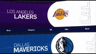 LA Lakers vs Dallas Mavericks Game Recap | 1/7/19 | NBA